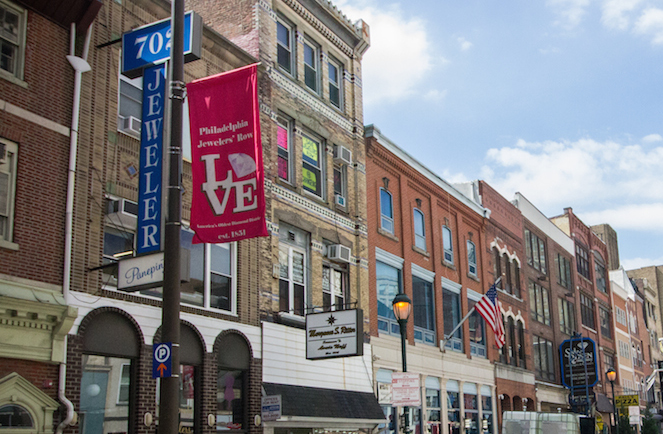 Committee Recommends Jewelers Row Buildings For Designation