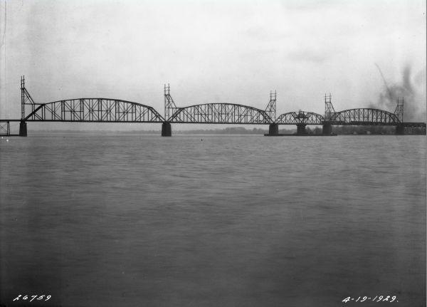Delair Bridge in 1929 | Source: PhillyHistory.org