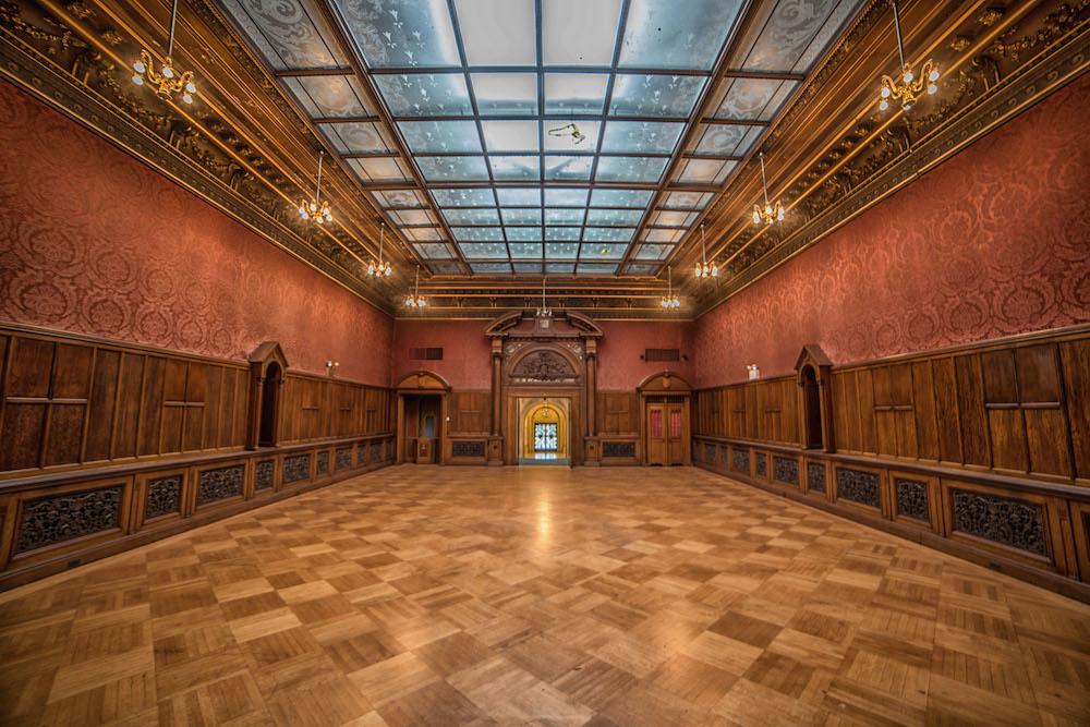 Inside The Empty, Gilded Halls Of Elkins Estate   Hidden