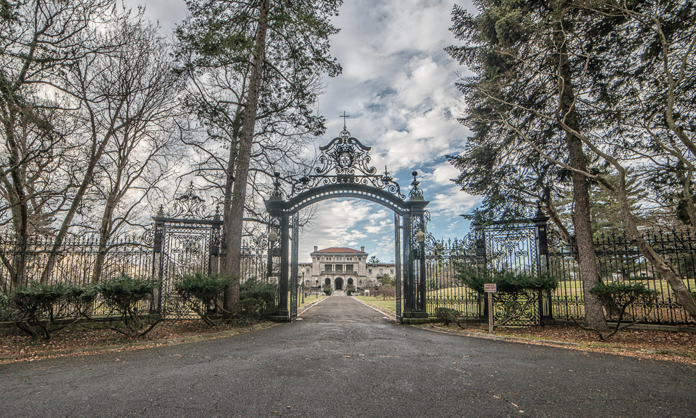 Inside The Empty, Gilded Halls Of Elkins Estate