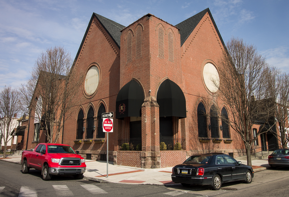 Old Church In Port Richmond Parties On
