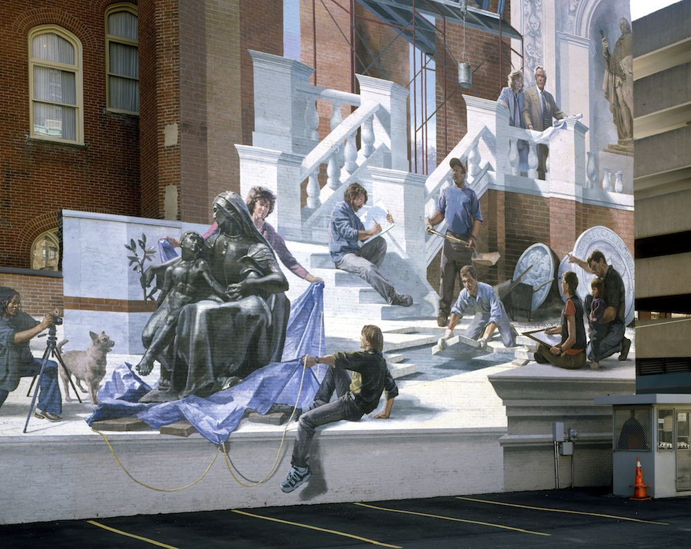 Meta Muralist Blends Architecture With Public Art
