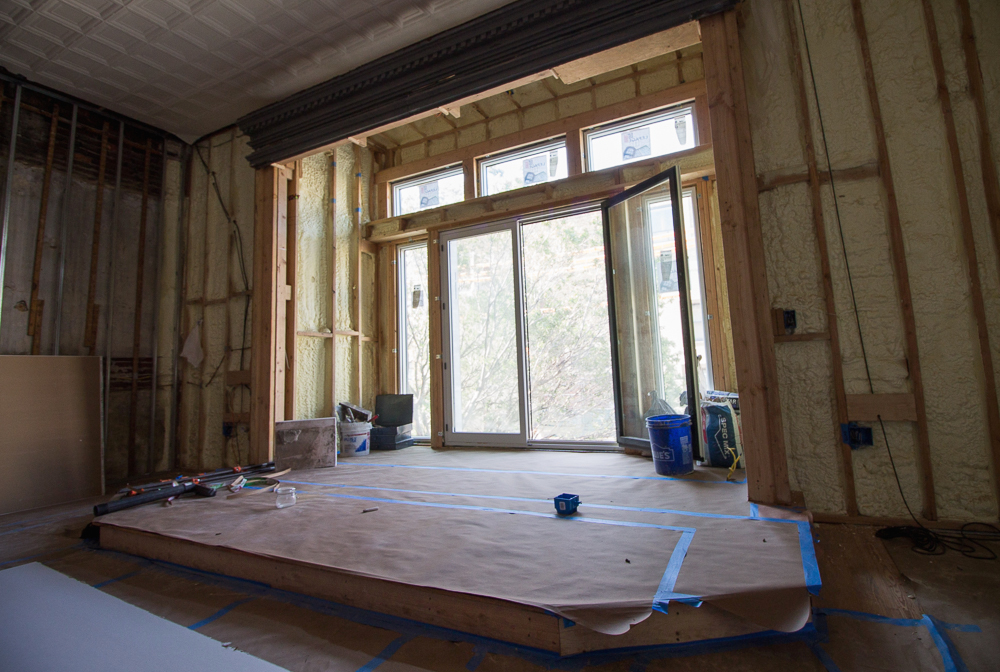 Dalseth And McMahon Plan To Take The Old Bay Window That Was Removed For  Modern Fenestration And Use It To Frame This Second Acoustic Performance  Stage On ...