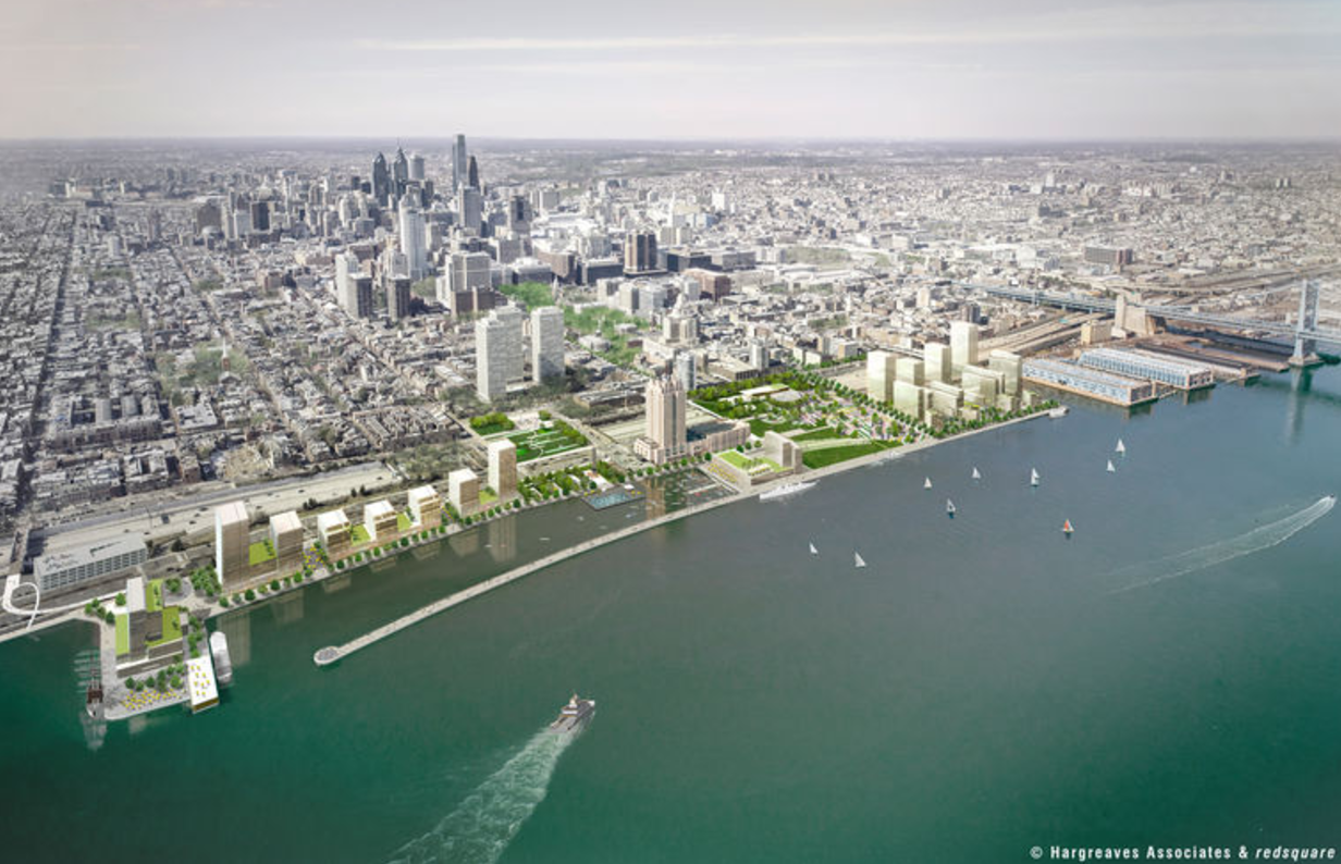 With New Penn's Landing Plan, A Central Park