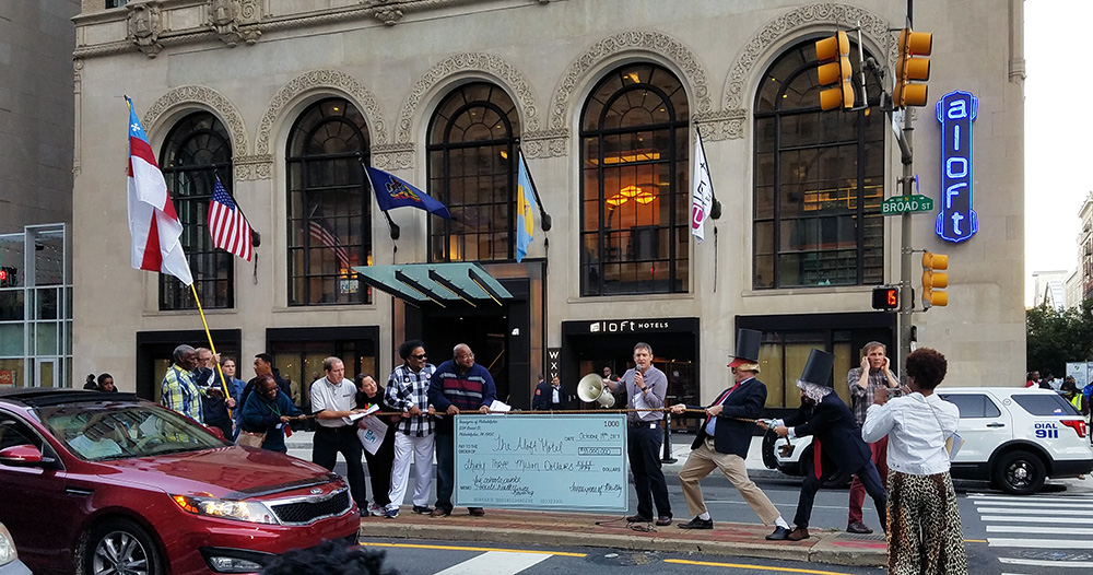 Tax Credit Turnabout Triggers Protest At New Aloft Hotel