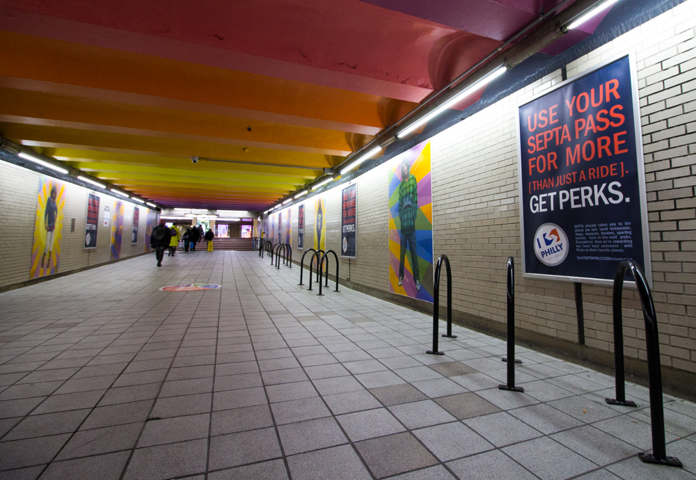Septa Subway Entrance
