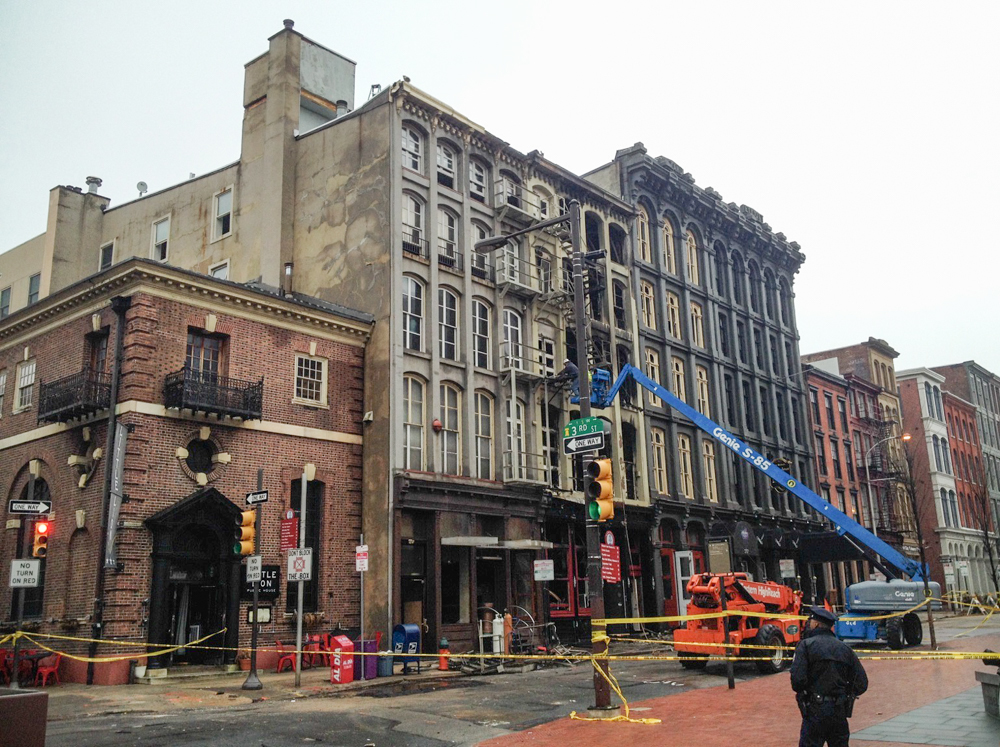 Repeating History In Old City After Chestnut Street Fire