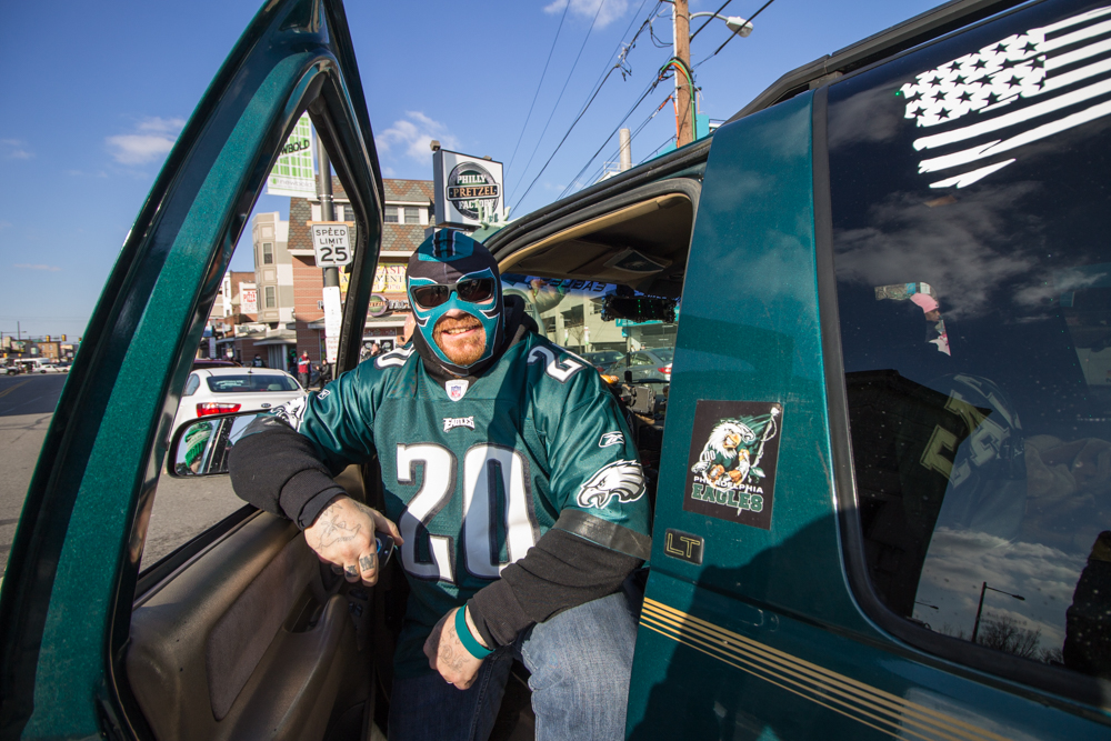 Smiling In South Philly At The Eagles Super Bowl Parade