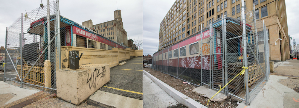 Old Train Car On North Broad To Become Rail Park HQ