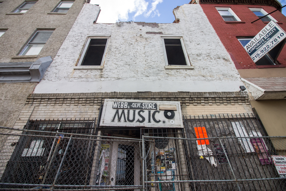 Landmark Record Store On Ridge Avenue Razed