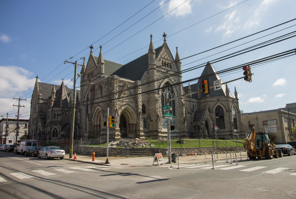 Demo Prep Begins For Gothic Revival Church In West Philly