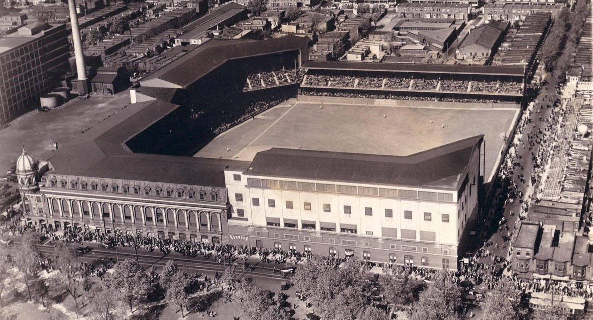 In 1913 The Imposing Structure Of Shibe Park Formed High