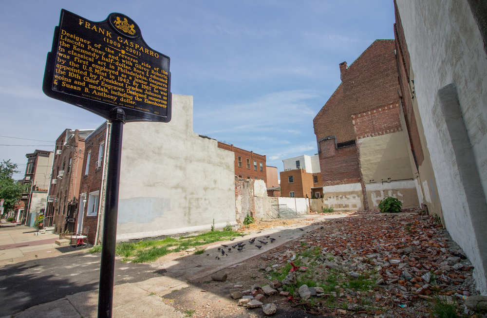 Two PA Historical Markers At A Loss In South Philly