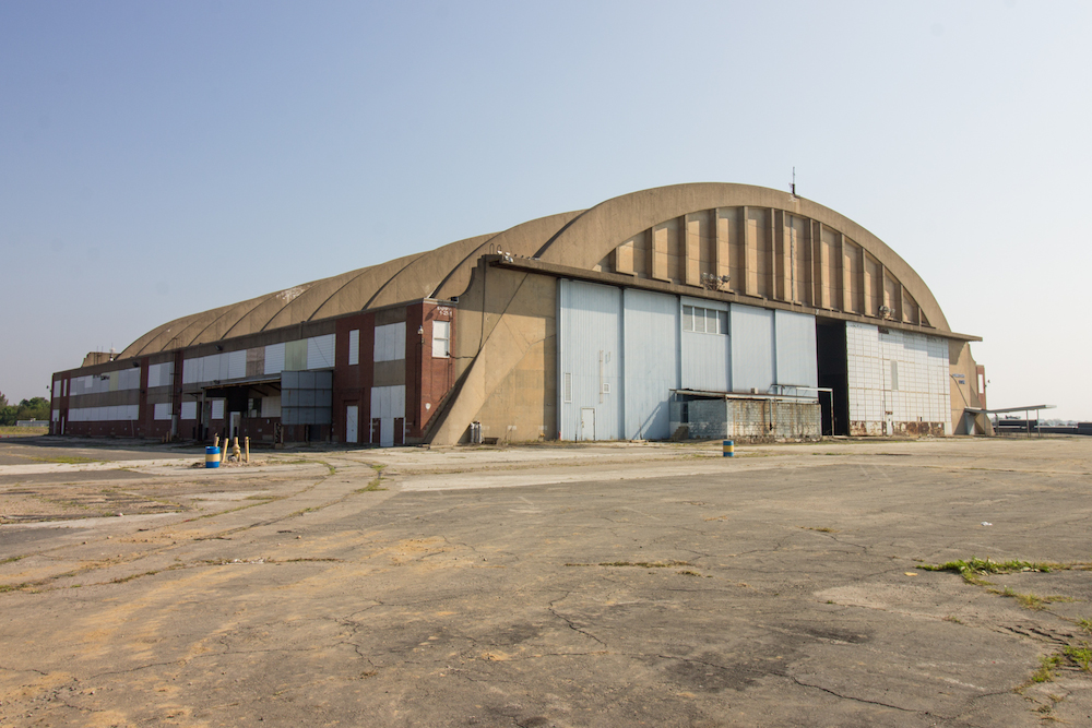 Abandoned Navy Hangar Prepares For Final Battle