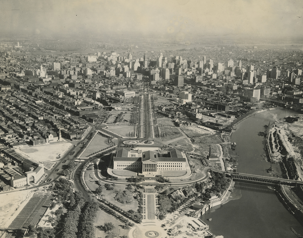 A Century Of Public Events On The Benjamin Franklin Parkway