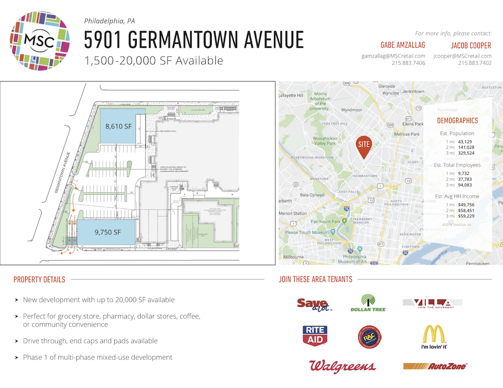 Real Estate Brochure For Vacant School Sounds Alarms in Germantown