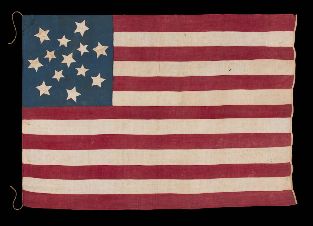 Rare Collection Of Early American Flags Explores The Evolution Of Old Glory