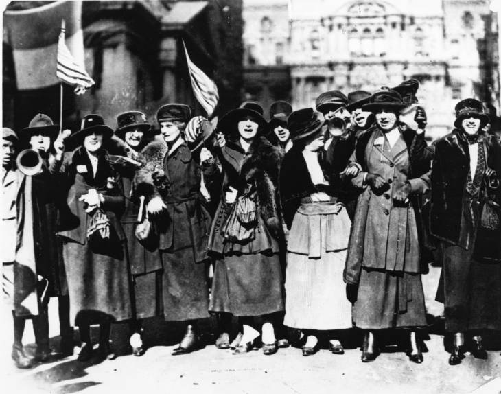 Celebrating Rebellion: On The Picket Line With The Suffragettes Of Philadelphia