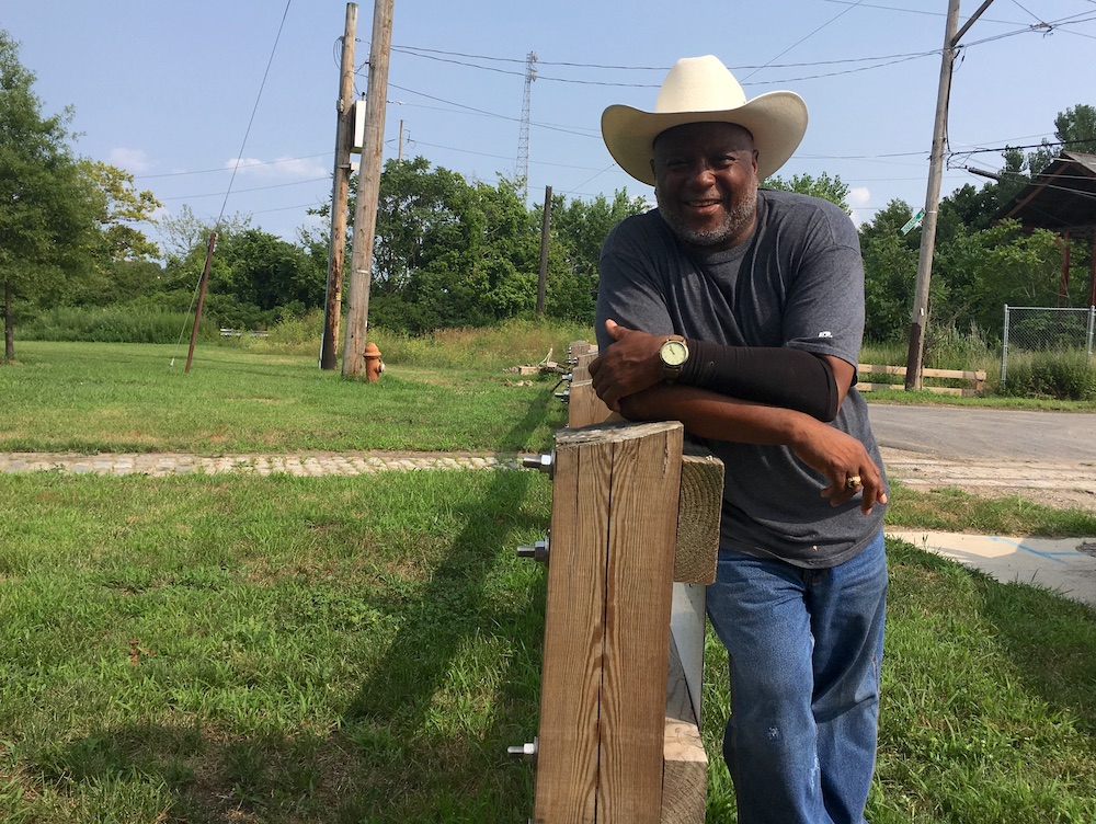 Concrete Cowboy of Southwest Philly Finds a New Home at Bartram's Garden