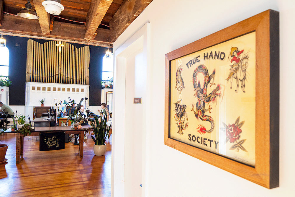 Tattoo Studio Gives Old Fishtown Church a Helping Hand