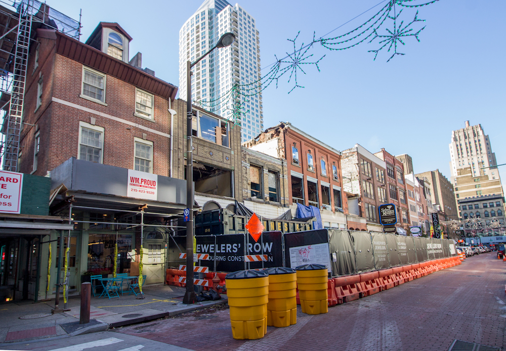 Designation Committee to Review Jewelers' Row as Demolition Proceeds