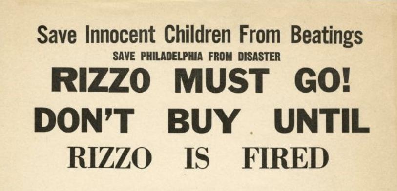 Exploring the Rizzo Boycott of 1967
