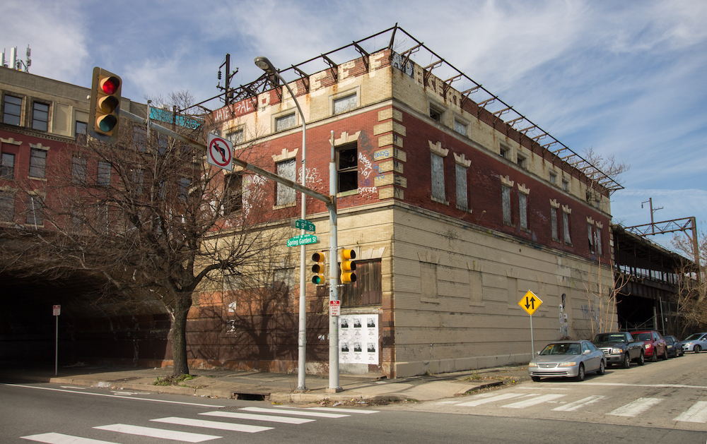 Abandoned Ghost Station On Spring Garden Awaits Resurrection