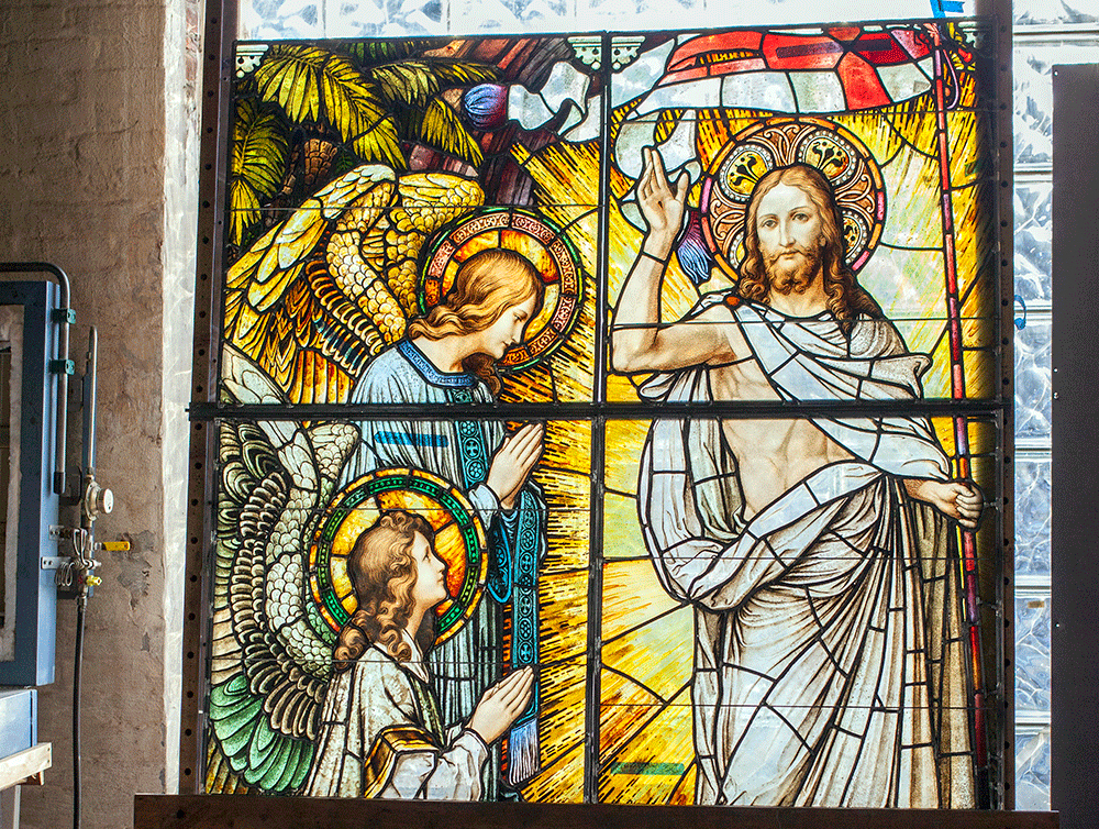 Sacred Windows Find Salvation in Germantown