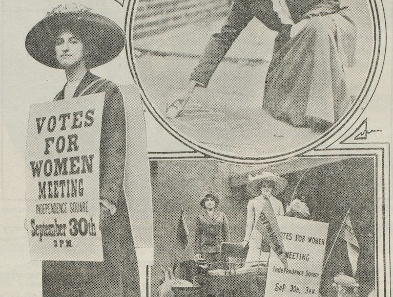 Taking it to the Streets: Open-Air Meetings of the 1911 Suffrage Movement in Philadelphia