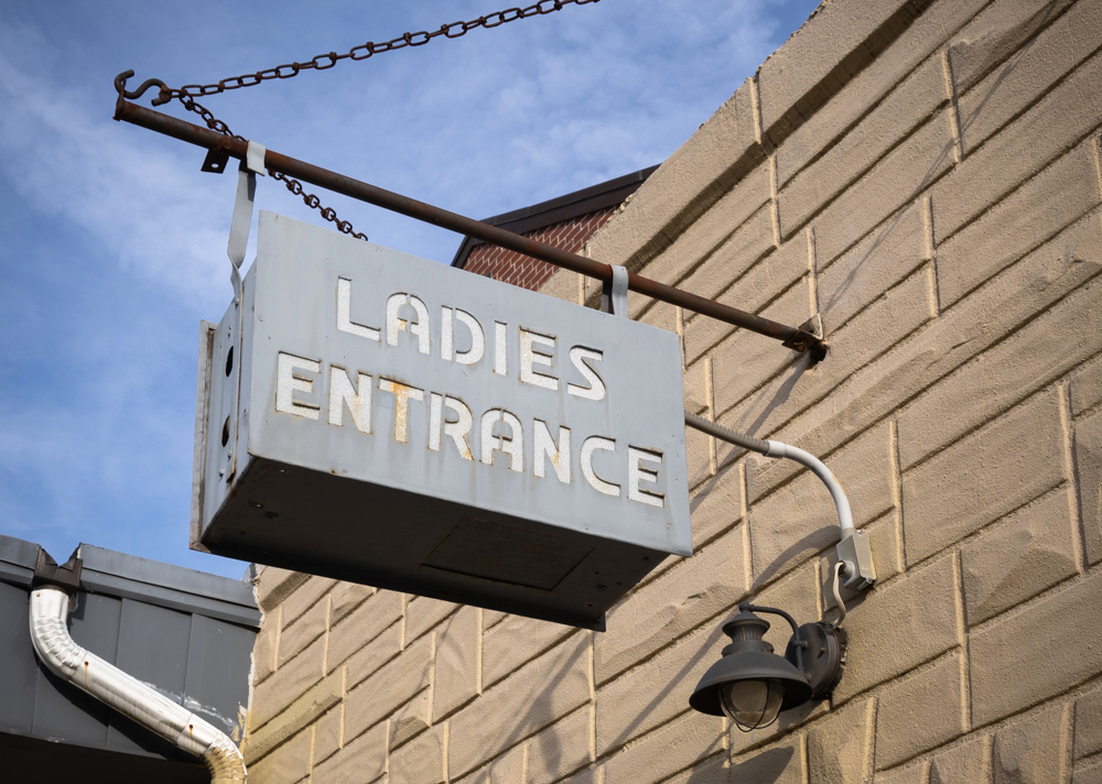 "Old ""Ladies' Entrance"" Signs Blur the Lines Between Gender Bias and Bar Ephemera"