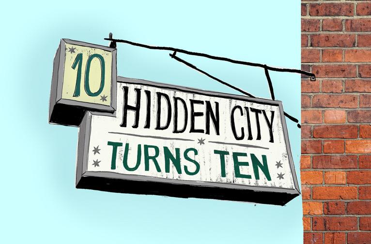 Hidden City Celebrates a Decade of Publishing